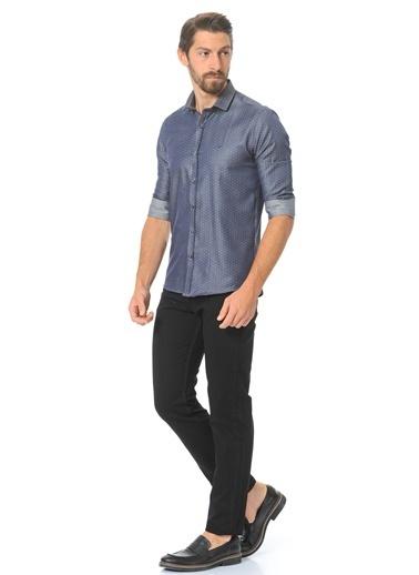 Wessi Uzun Kollu Slim Fit Gömlek Renkli